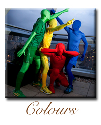 colours human living Statue company hire