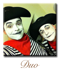mime artist french
