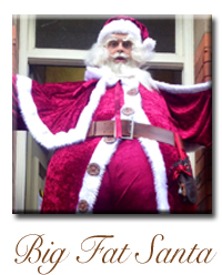stiltwalkingsanta